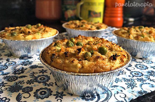 PANELATERAPIA - Blog de Culinária, Gastronomia e Receitas: Tortinha de Atum
