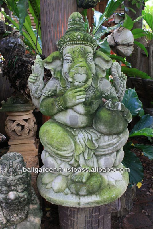 Ganesha Antique style ganesha stone statue for sale