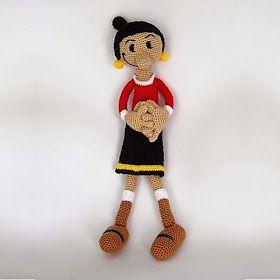 Amigurumi Wikinger : 82 fantastiche immagini su os bonecos da Anita su ...