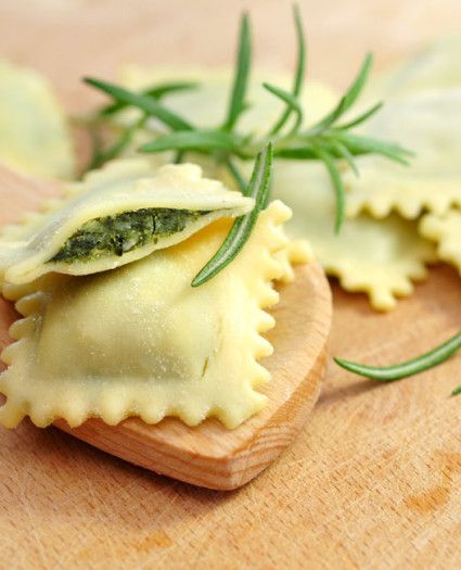 Ravioli ricotta e spinaci, ricetta originale.