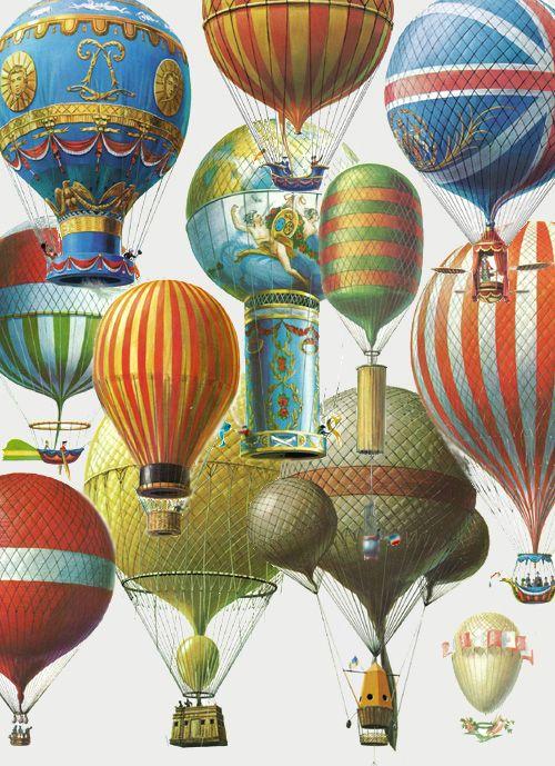 отличался винтажные картинки с воздушными шарами текстовом