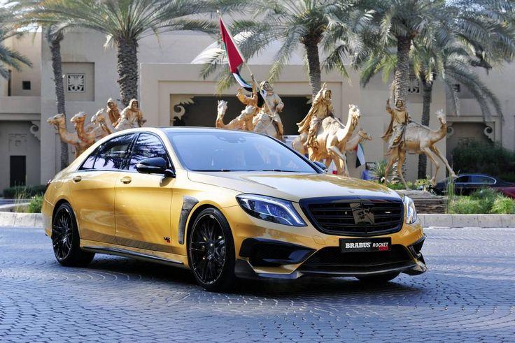 Brabus Mercedes S65 AMG unveiled in Dubai