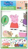Decofun, Peppa Pig Wall Sticker Stikarounds