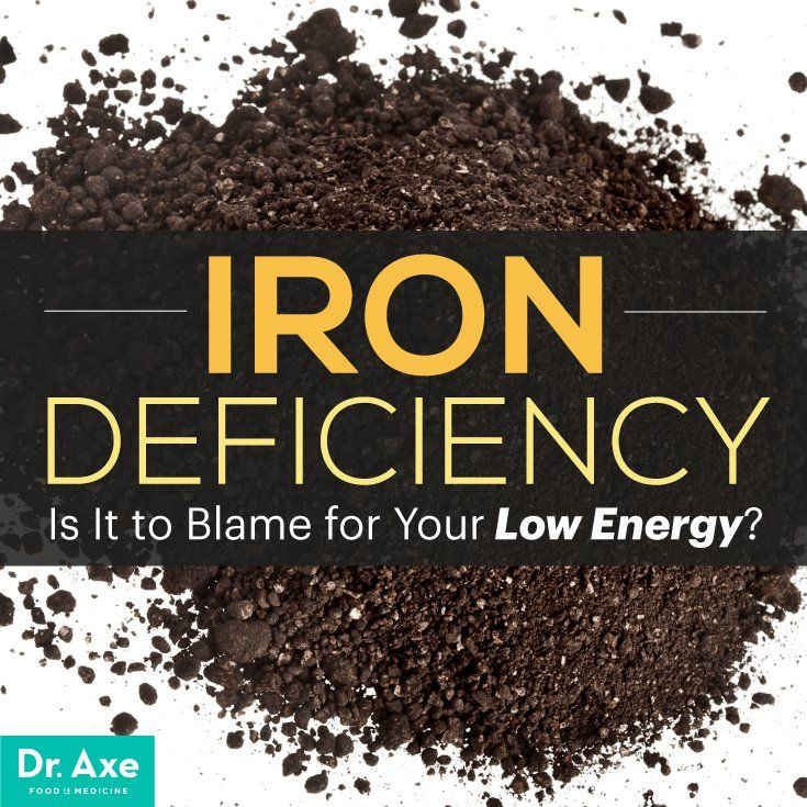 Iron Deficiency: Is It to Blame for Your Low Energy? - Dr. Axe