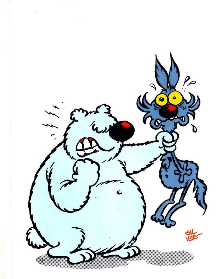 """Ve li ricordate? Lupo Alberto ed Enrico la Talpa? """"Enrico La Talpa: Cosa può essere, Beppe? Ventuno orizzontale: """"Si nutrono di preti e bambini"""". Lupo Alberto: Non ho tempo da perdere con quella robaccia insulsa e razzista! [segue]"""" #lupoalberto, #silver, #guidosilvestri, #fumetti, #satira, #comics, #italiano,"""