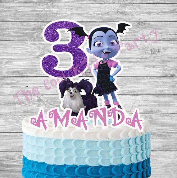 Vampirina and Friends Cake Topper