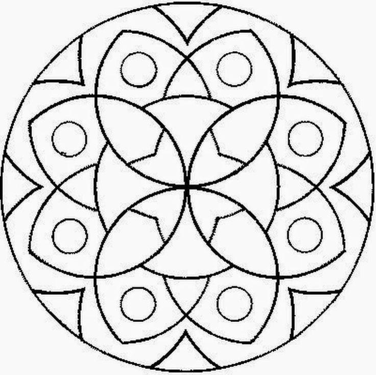 Increíble Mandalas Para Colorear Imprimibles Componente - Dibujos ...