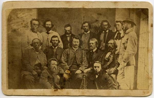 University of Manitoba - Libraries - Louis Riel and His Councilors