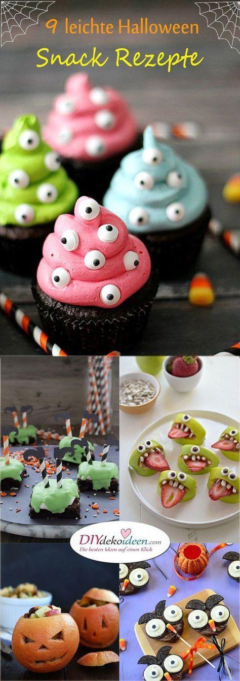 Diese Halloween Snack Rezepte werden Hexen und Gespenster