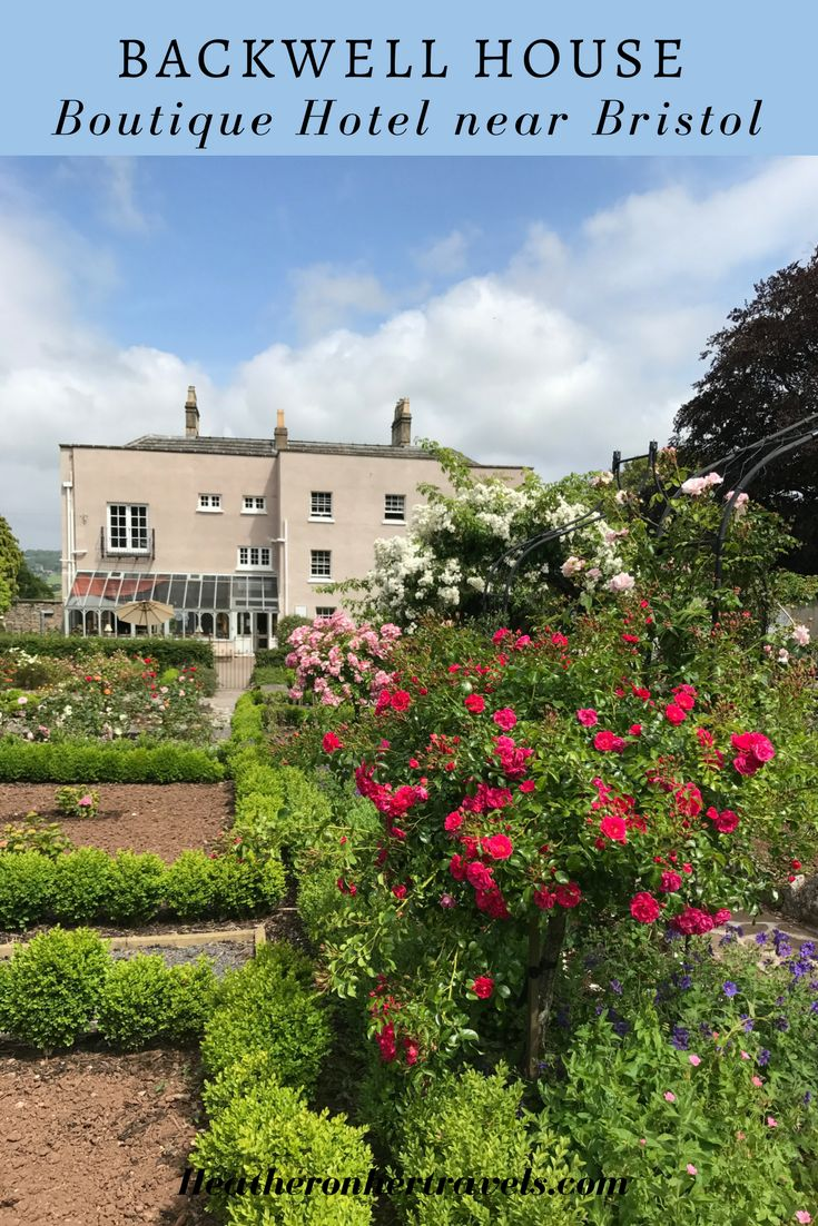 Read about Backwell House - boutique Hotel near Bristol