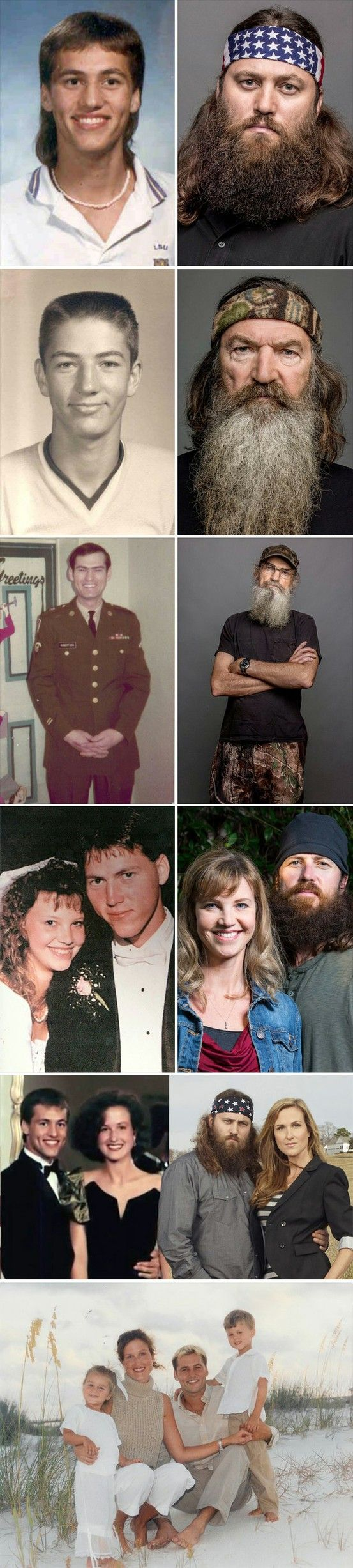 Duck Dynasty - Before the beards.