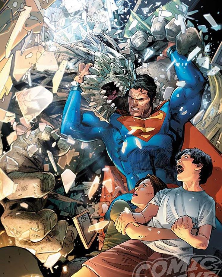 Action Comics #961 - Superman by Clay Mann *