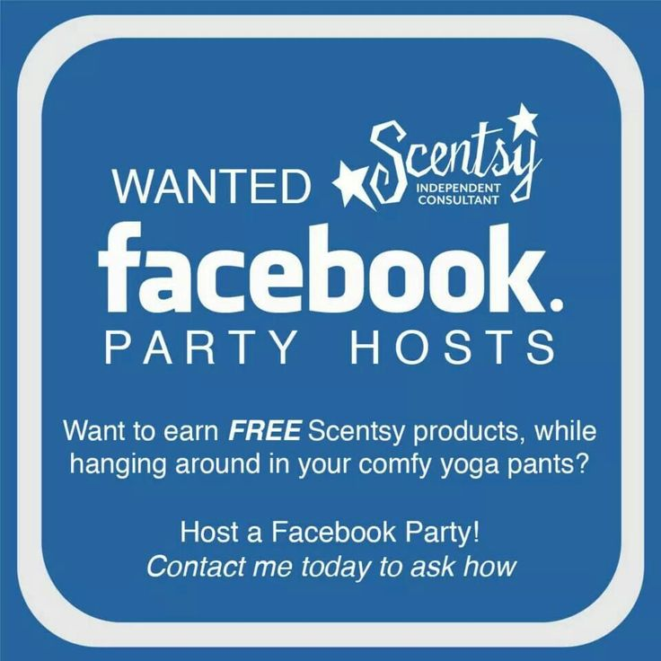 It's easy and quick to earn host rewards with a Scentsy Facebook party!  I did it before I joined and rocked my free and half price!
