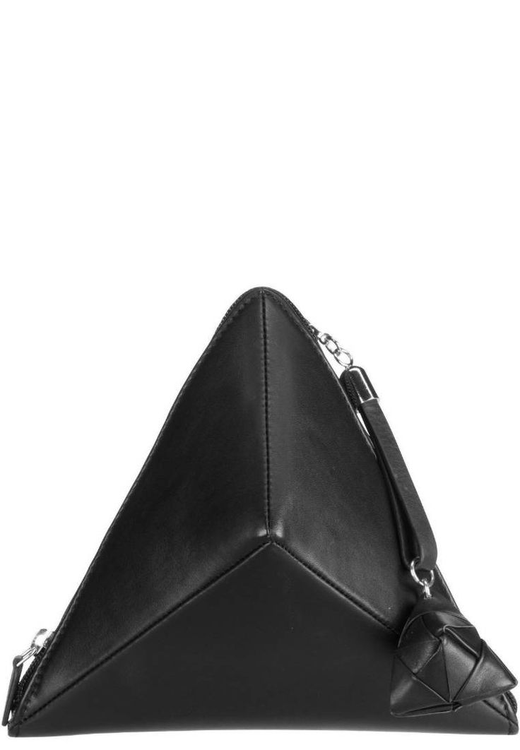 Jost. ALICE SARA OTT  - Handtasche - schwarz. Obermaterial:Leder. Verschluss:Reißverschluss. Weite:15 cm bei Größe One Size. Futter:Nylon. Länge:22 cm bei Größe One Size. Muster:unifarben. Höhe:21 cm bei Größe One Size