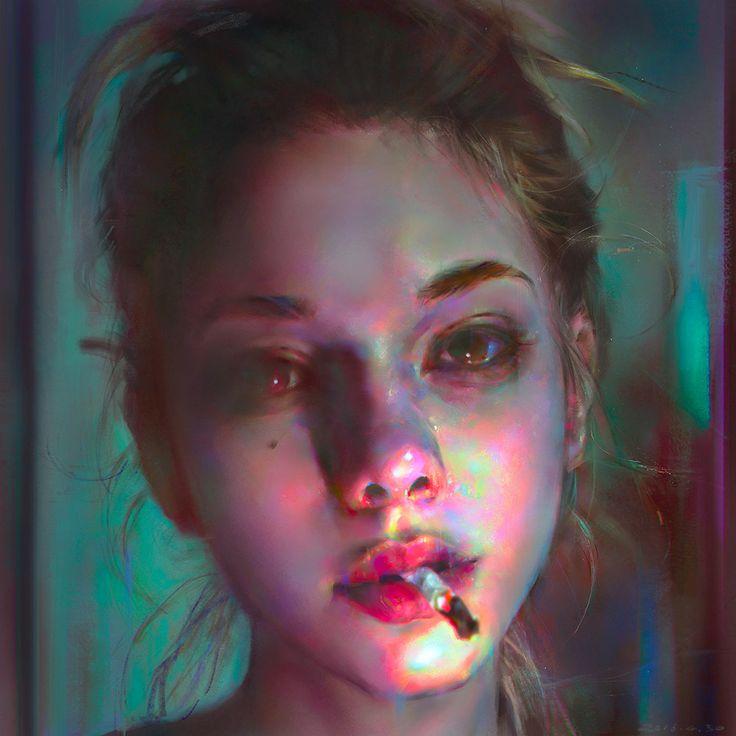 Yanjun Cheng is a talented digital artist based in New York.  More illustrations via ArtStation
