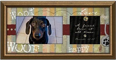 Dog Photo Frame - A Friend Loves At All Times