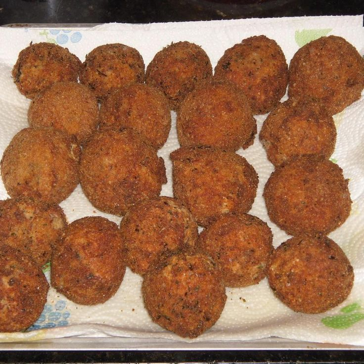 Fell in love with Boudin balls at a little mom & pop gas station down in Louisiana. I used to go camping deep in the woods there and found a little store to get supplies from when they were needed. Came across these and knew I had to figure out how to make them myself. After a few trials of making them have finally came up with a wonderful recipe. Hope you enjoy them as much as we have. They are wonderful teamed up with the dipping sauce.