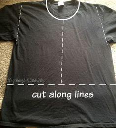 Pirate Vest - Cut Lines