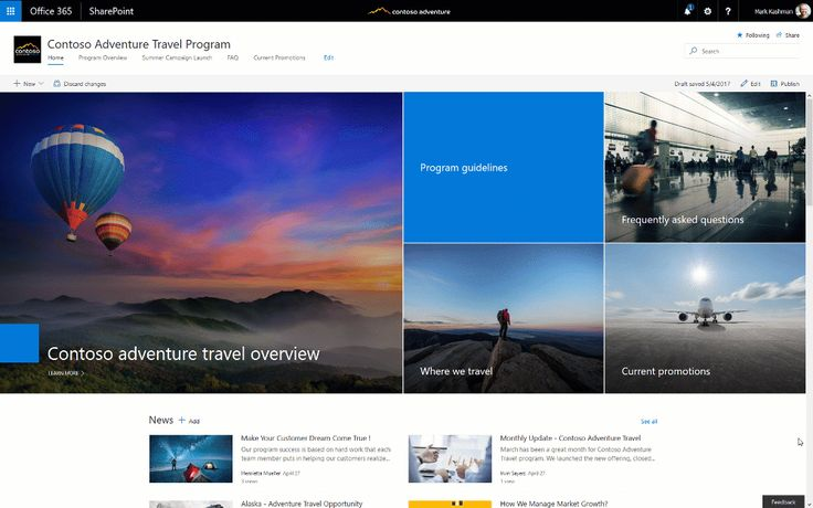 SharePoint communication sites begin rollout to Office 365 customers - https://www.solutionssquad.com/blog/sharepoint-communication-sites-begin-rollout-to-office-365-customers/?utm_source=PN&utm_medium=POSTID13401&utm_campaign=BLOG