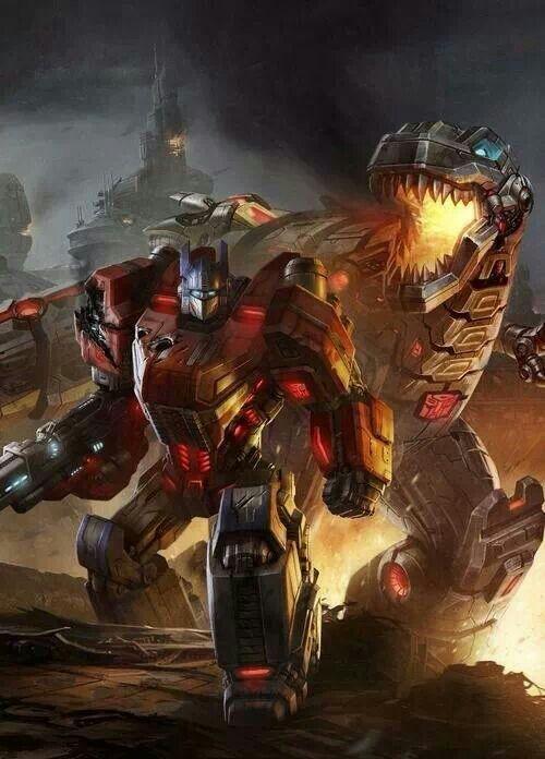 Optimus Prime & Grimlock