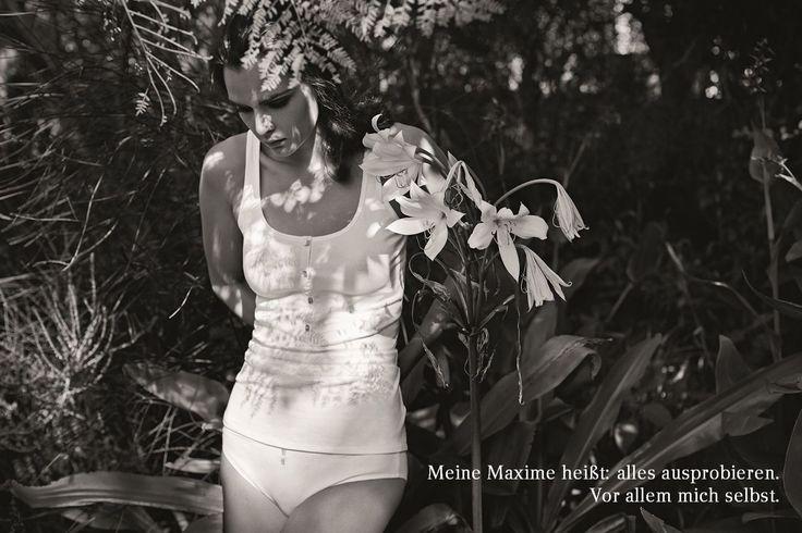 Meine Maxime heißt: alles ausprobieren. Vor allem mich selbst.   #lessismore #bodywear #underwear