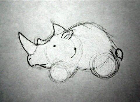 Rinoceronte dibujo