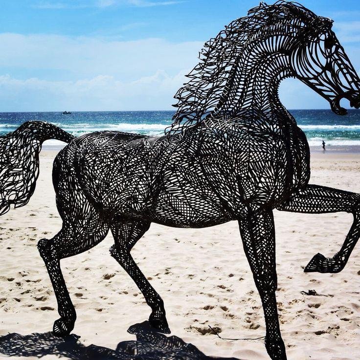 Sculpture by the Sea Currumbin Beach #thisisqueensland #seeaustralia
