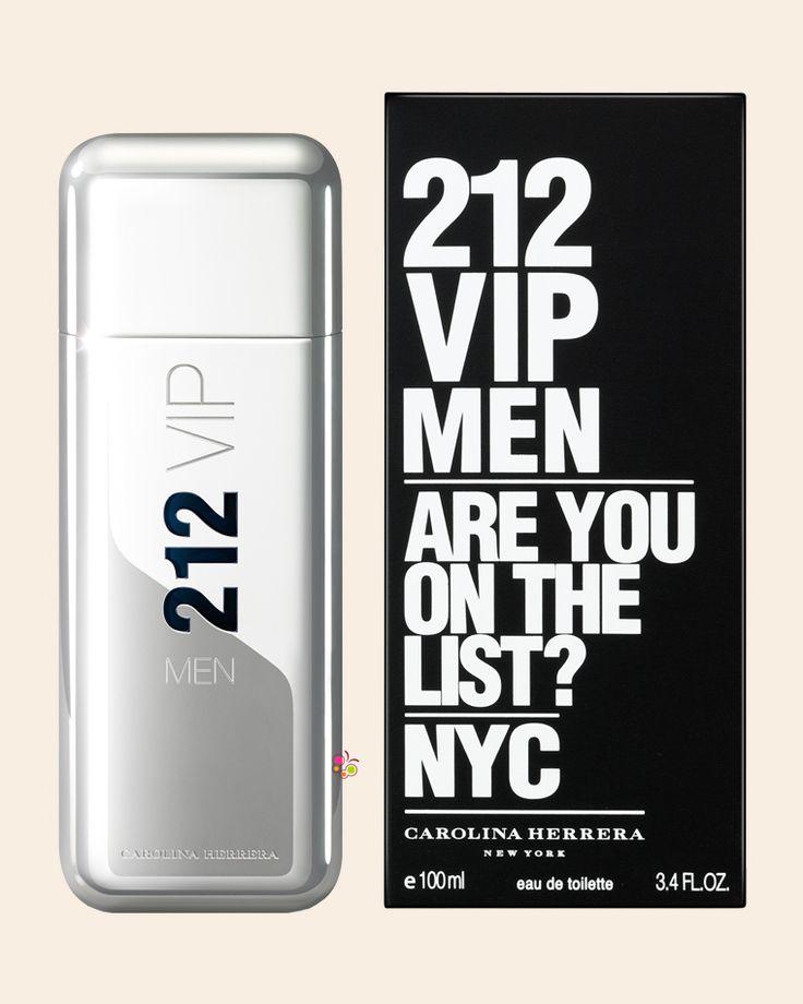 CAROLINA HERRERA 212 VIP Men Erkek Parfüm EDT 100 ml