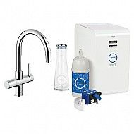 Grohe Blue Chilled & Sparkling Dual Function Faucet - Chrome