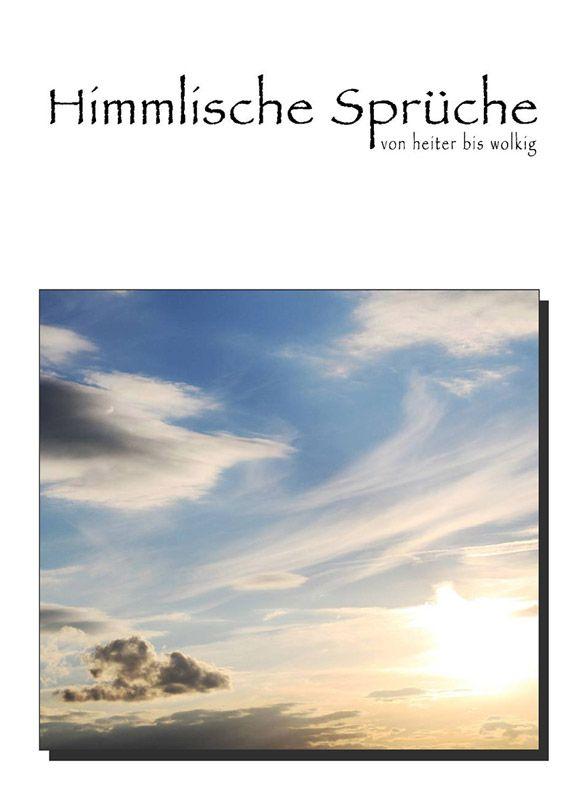 """Natur-Posterbuch """"Himmlische Sprüche von heiter bis wolkig"""", Cover"""