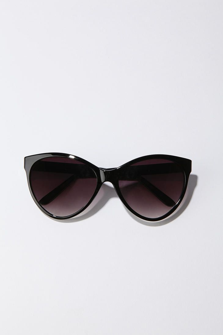 Oversized cateye sunglasses; $14.00 My favorites, especially since I broke my vintage pair