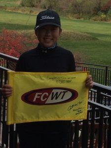 FCWT Junior Golf tournament at Notre Dame 2014 Alyssa Kim 2nd