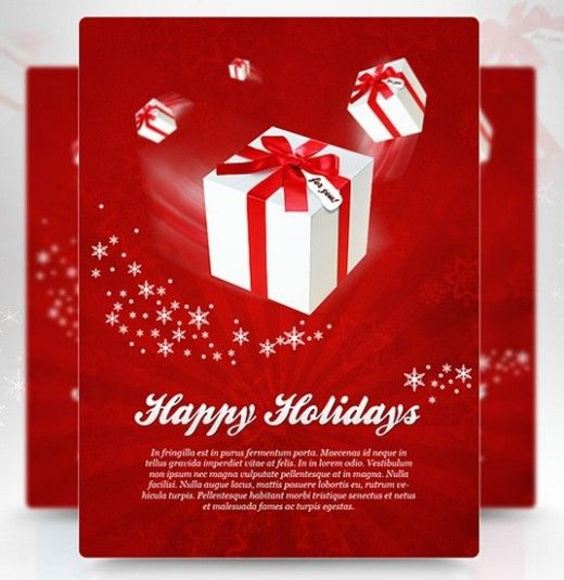 30 best 30-stunning-free-flyer-templates images on Pinterest Party - free printable christmas flyers templates