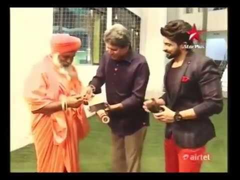 Kapil Dev with sant Balbir singh ji seechewal
