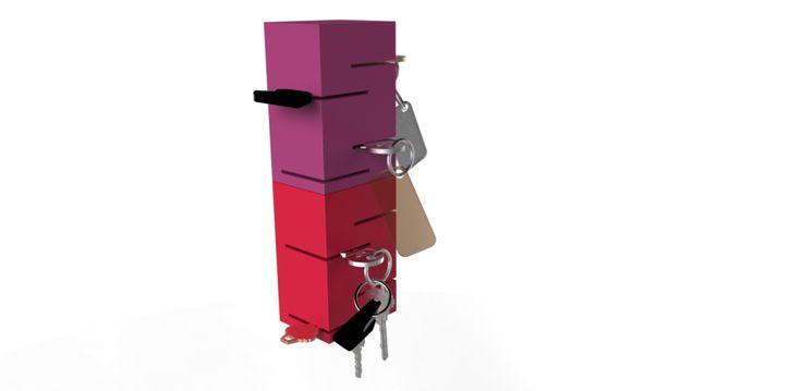 Robin Alexandra van Dam - Product Design - Key holder