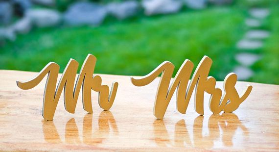 Check out this item in my Etsy shop https://www.etsy.com/listing/532260132/wooden-word-mr-mrs-for-the-table-decor