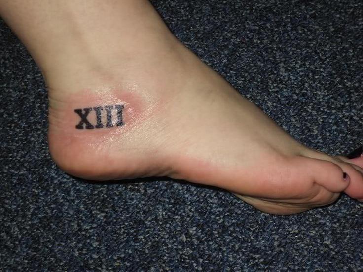 Number 3 Tattoo Ideas: Roman Numeral 13 Tattoo Designs - Google Search