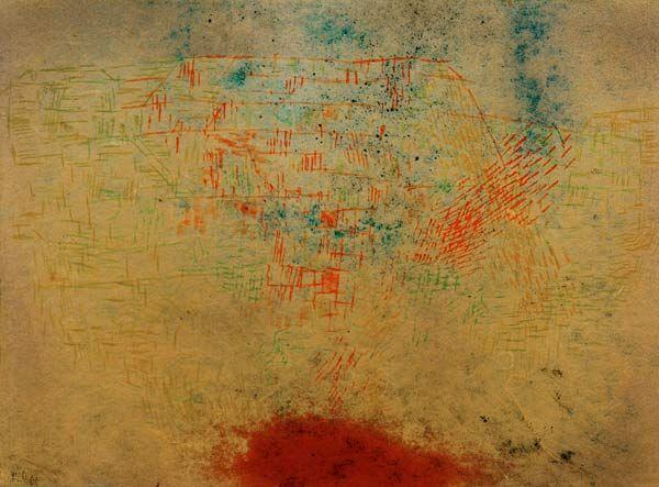 Paul Klee 'Suedliche Kueste' 1925