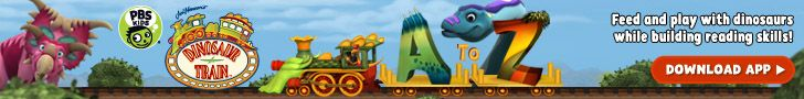 All aboard the Dinosaur train on iPad and iPhone