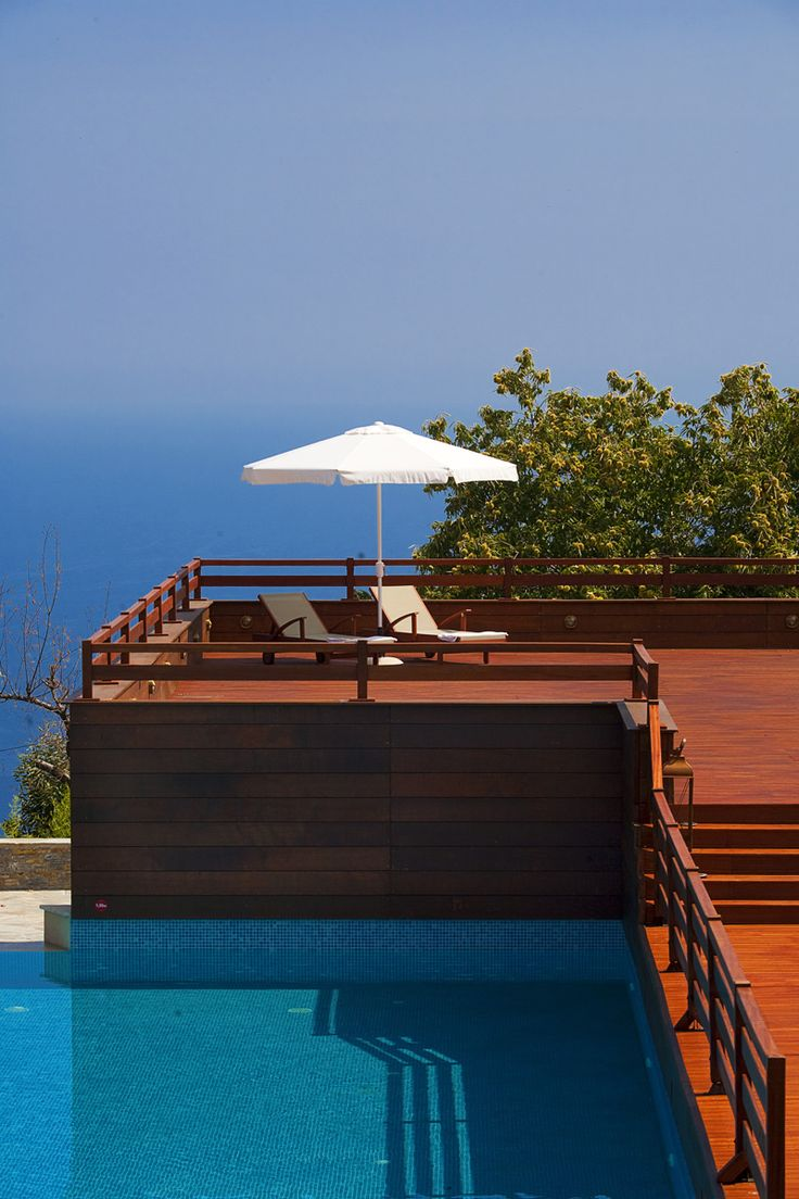 Magnificent views to the deep blue of the #Aegean at #12MonthsLuxuryResort  http://www.tresorhotels.com/en/hotels/67/12-months-luxury-resort