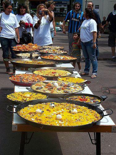 choosing the best Paella, Valencia  Spain