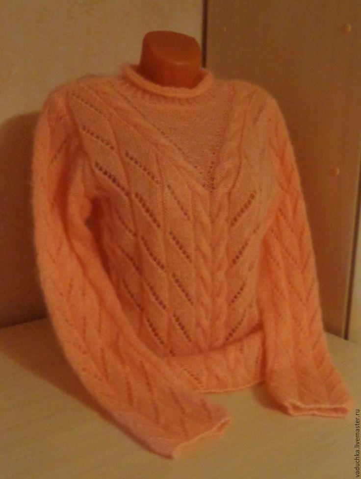 Купить Джемпер женский МОХЕР - одежда, одежда для женщин, джемпер вязаный, джемпер, джемпер женский
