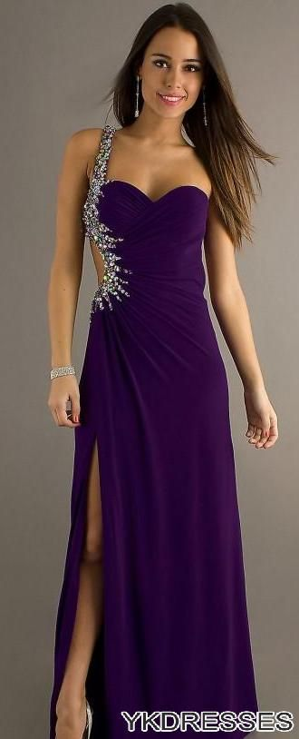 25  best ideas about Purple prom dresses on Pinterest | Dream prom ...