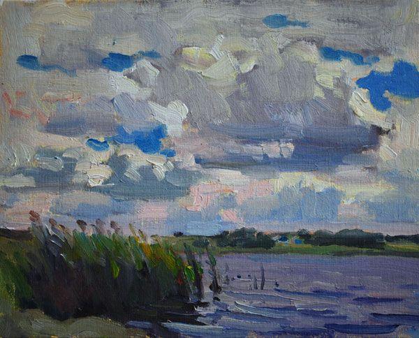 Lena Kurovska, 24 x 30 cm, oil
