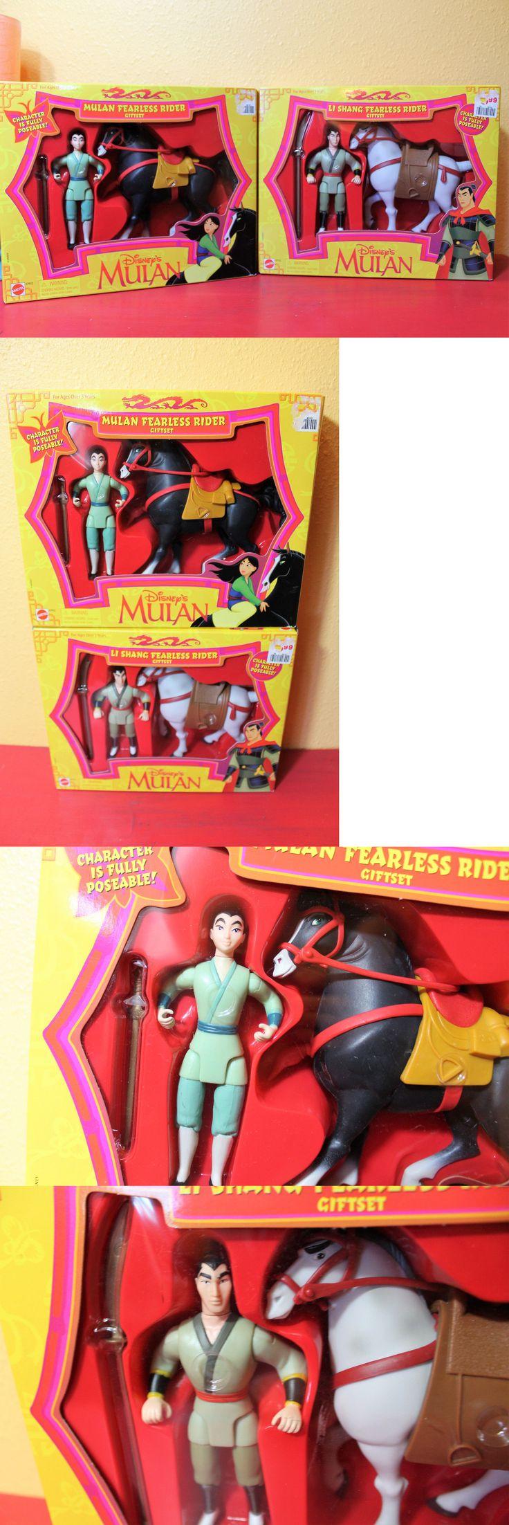 Disney Princesses 146030: Disney Mulan Li Shang Fearless Rider Horse Action Figure Doll Set Sealed Mattel -> BUY IT NOW ONLY: $46.95 on eBay!