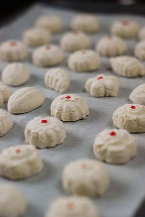 Kuih Bangkit - Tapioca Cookies -- #MalaysiaMustSee
