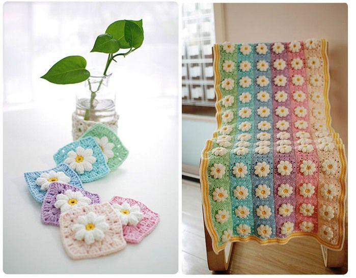 62 best Chales bebé images on Pinterest   For the home, Crocheting ...