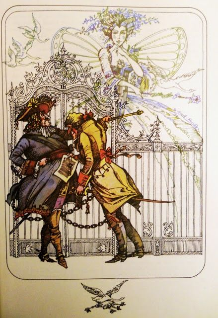 Val Munteanu - Piticul Cinabru illustrations