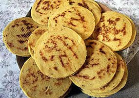 Arepas from the Santander department in Colombia. Visit our website: http://www.going2colombia.com/