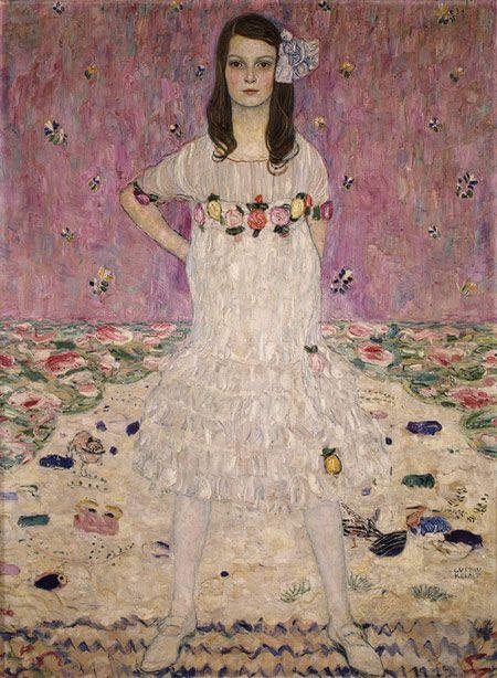 Mäda Primavesi 1912 - Gustav Klimt